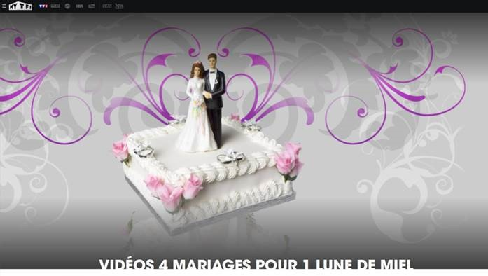 4 mariages TF1
