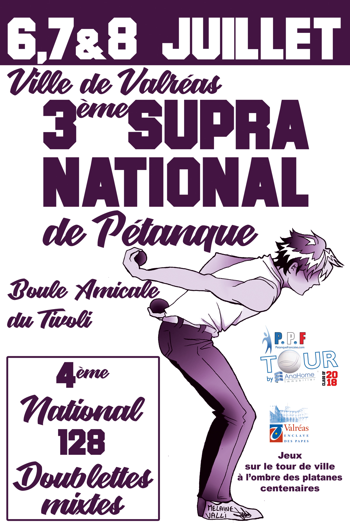 Affiche National Tivoli 2018